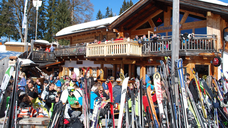 Skitourismus in den Alpen