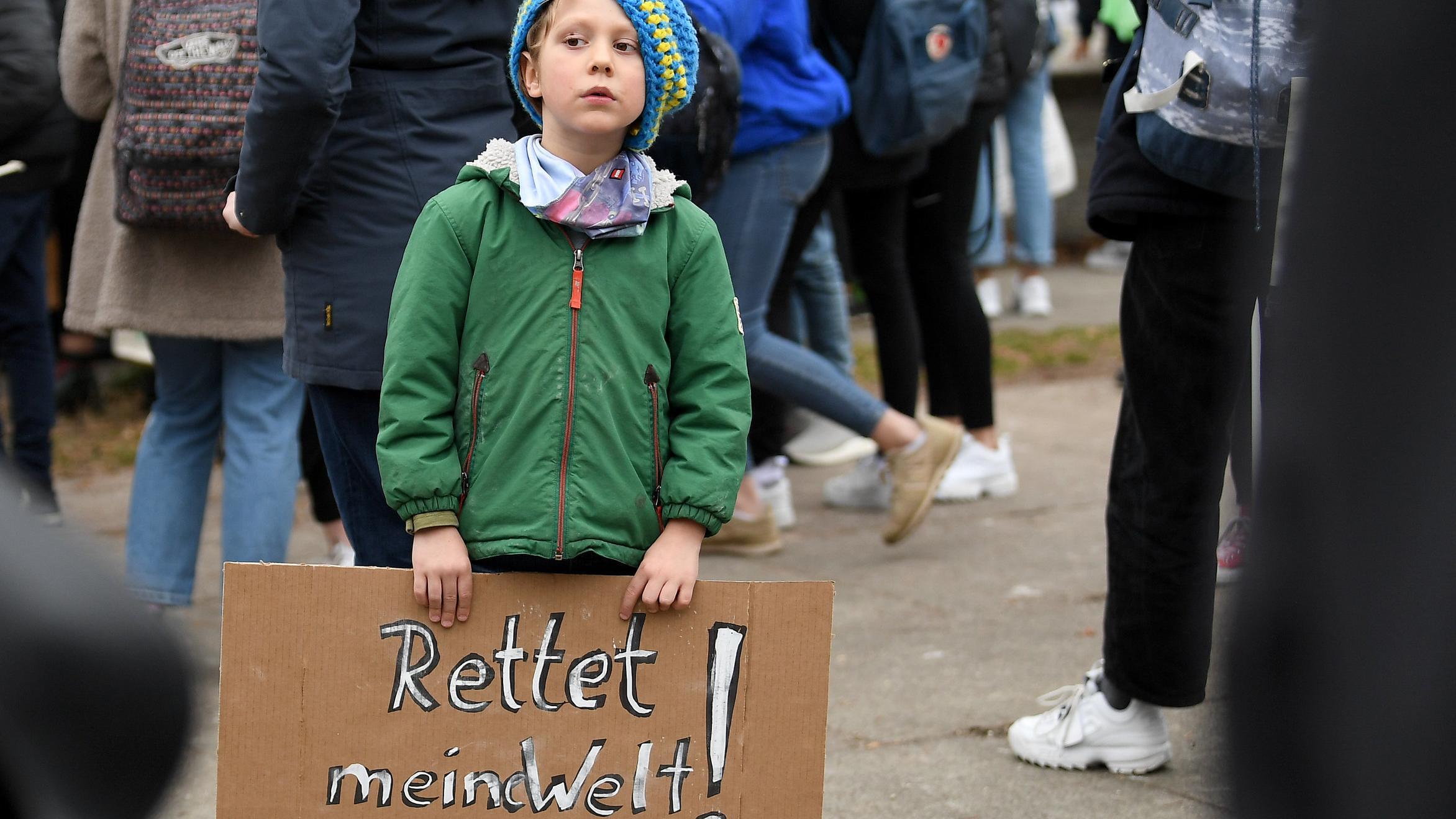 Inzwischen hat sie unzählige Mitstreiter - etwa den sechsjährigen Jonathan aus Berlin.