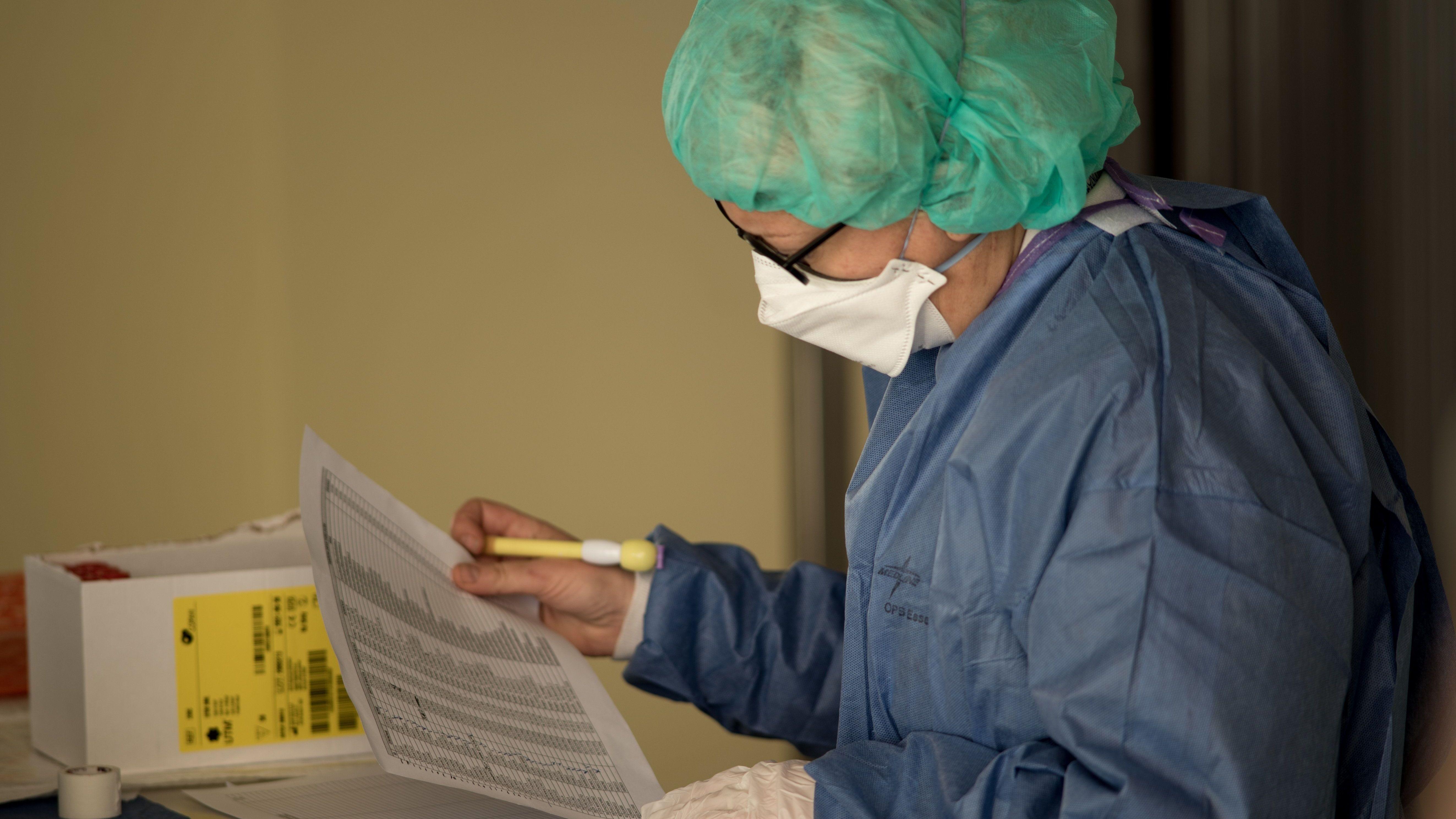 Corona-Virus Screening - Testauswertung