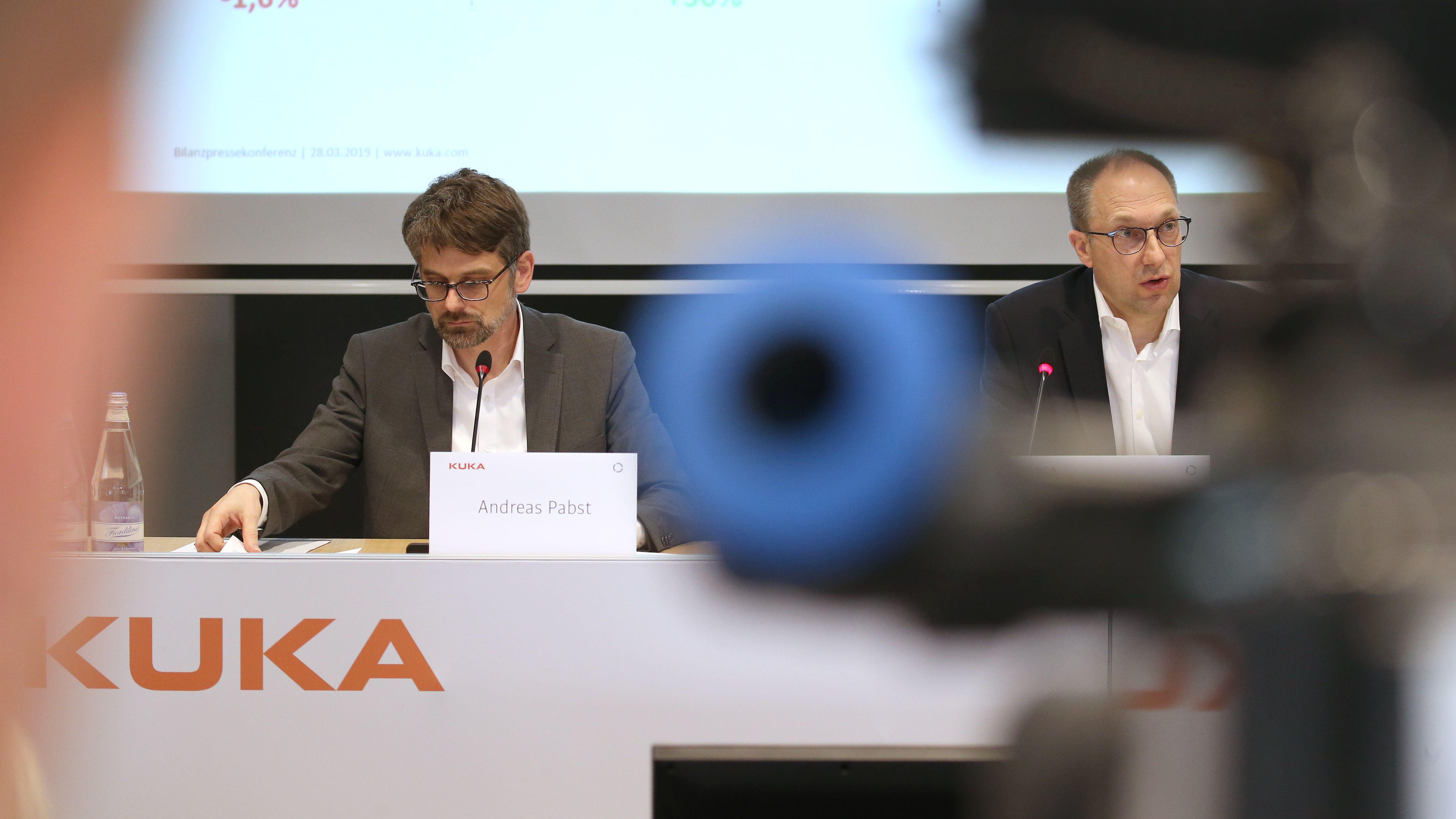 Kuka Bilanz-Pressekonferenz für das Jahr 2018