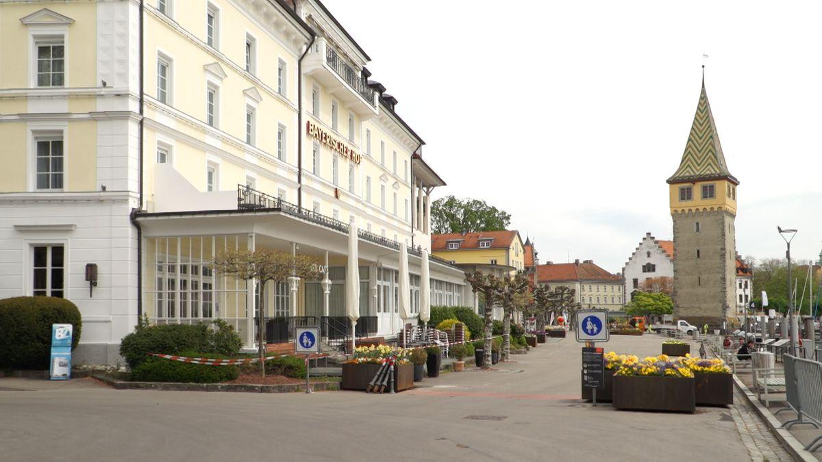 Das Hotel Bayerischer Hof in Lindau