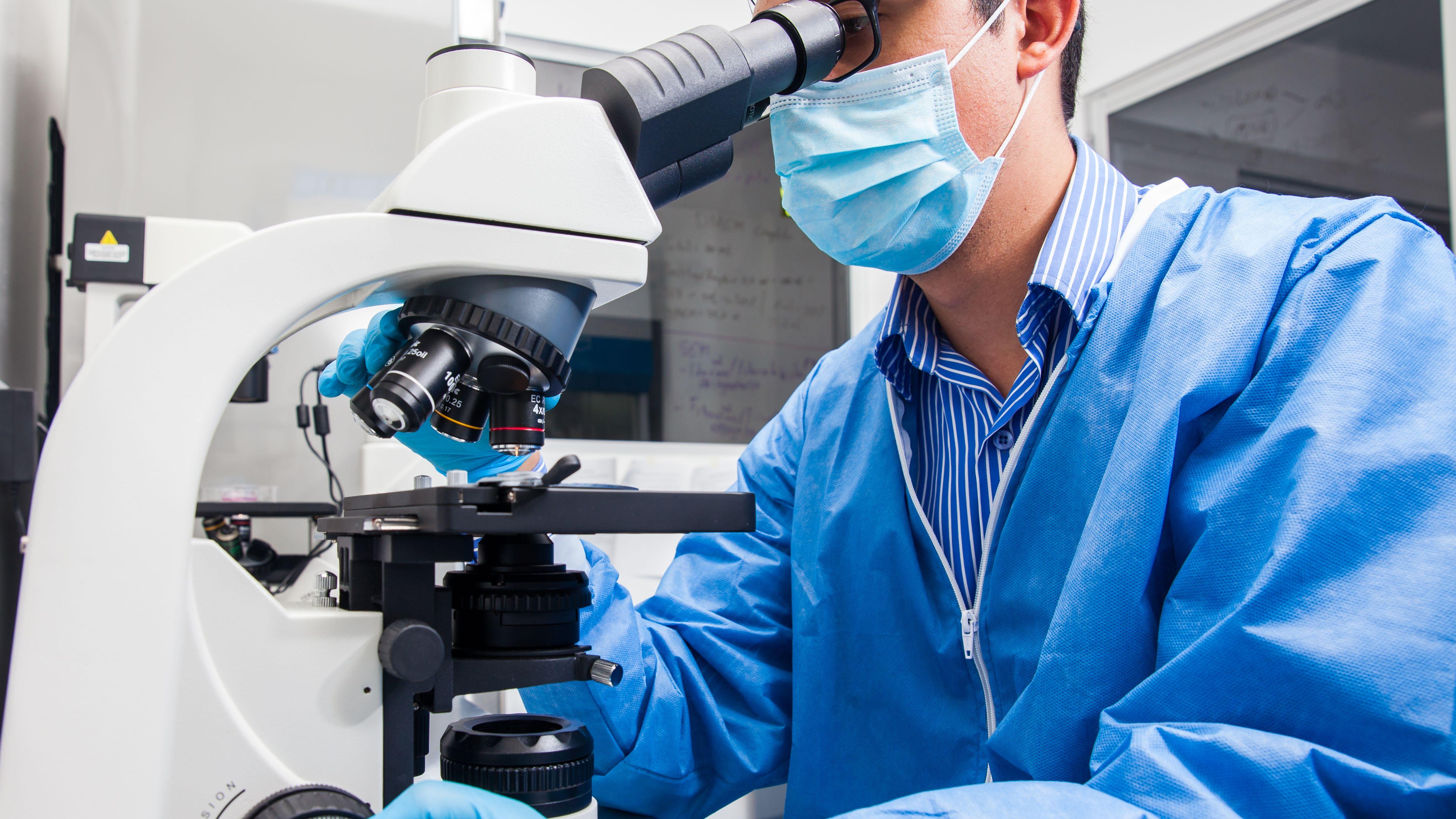 Untersuchung im Labor (Symbolbild)
