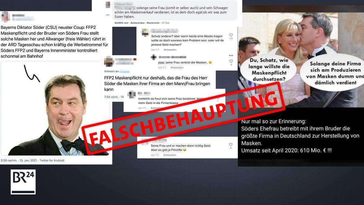 Die Falschbehauptung über Karin Söder-Baumüller kursiert schon seit 2020