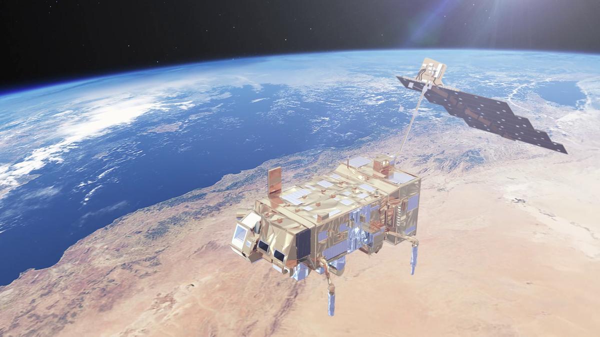 Die Metop-Wettersatelliten ermöglichen eine bessere Wettervorhersage. Dabei handelt es sich um ein Projekt der ESA und Eumetsat.