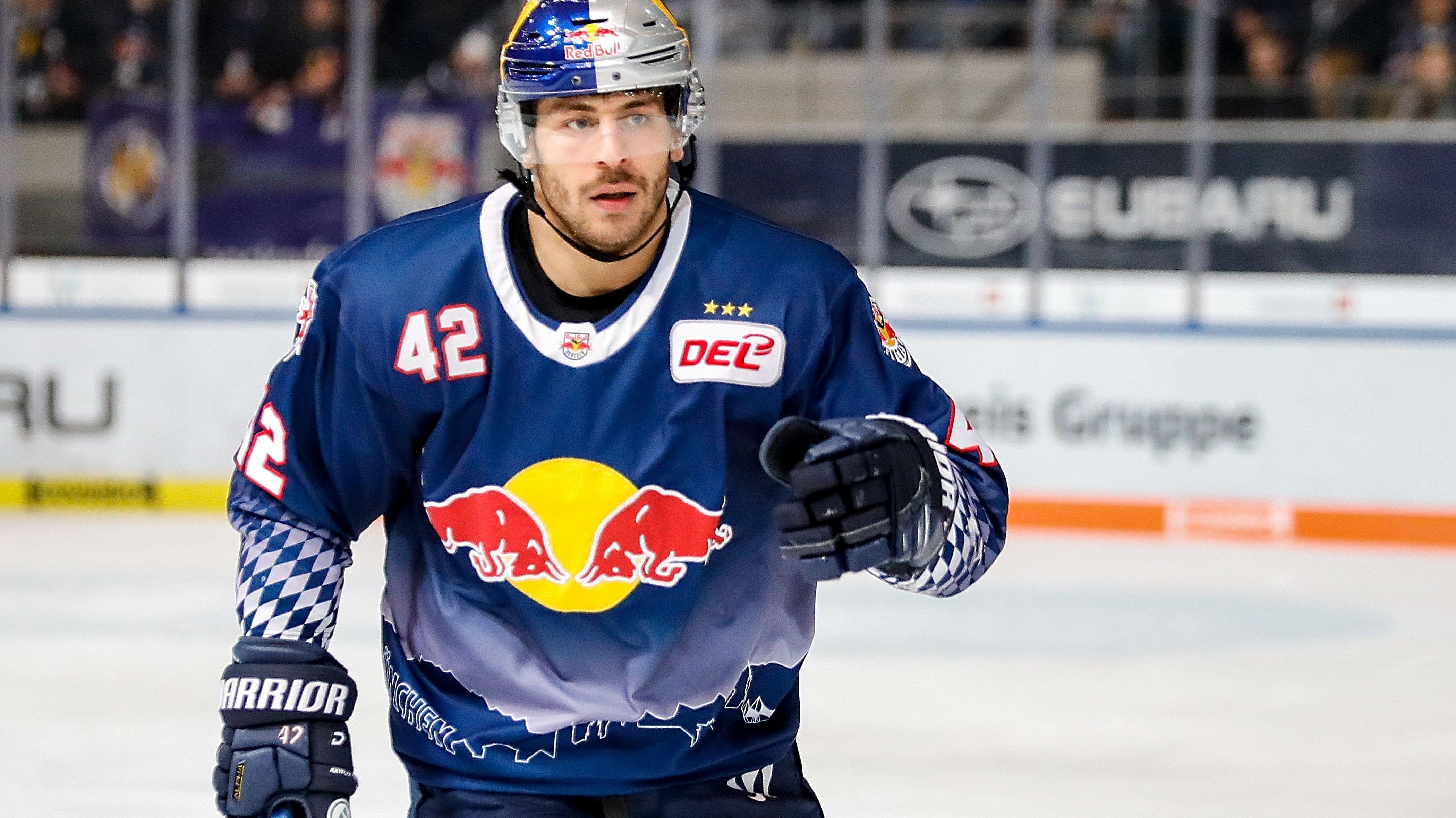 Yasin Ehliz vom EHC Red Bull München
