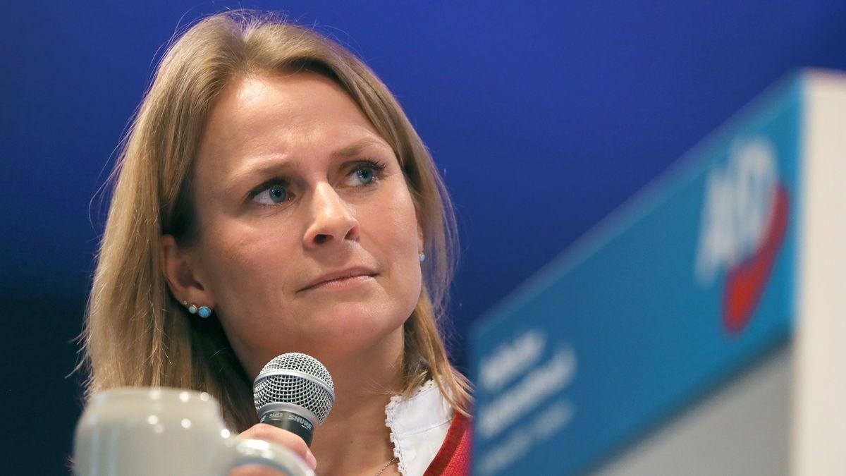Corinna Miazga, Landesvorsitzende der bayerischen AfD
