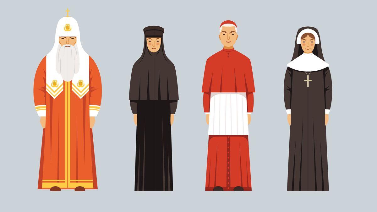 Symbolbild: Frauen und Männer in den Religionen
