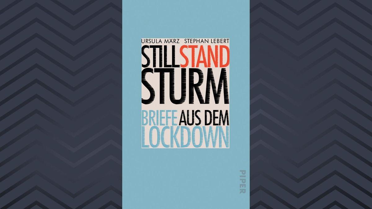 """Titelseite des Buches """"Stillstandsturm"""" von Ursula März und Stephan Lebert"""