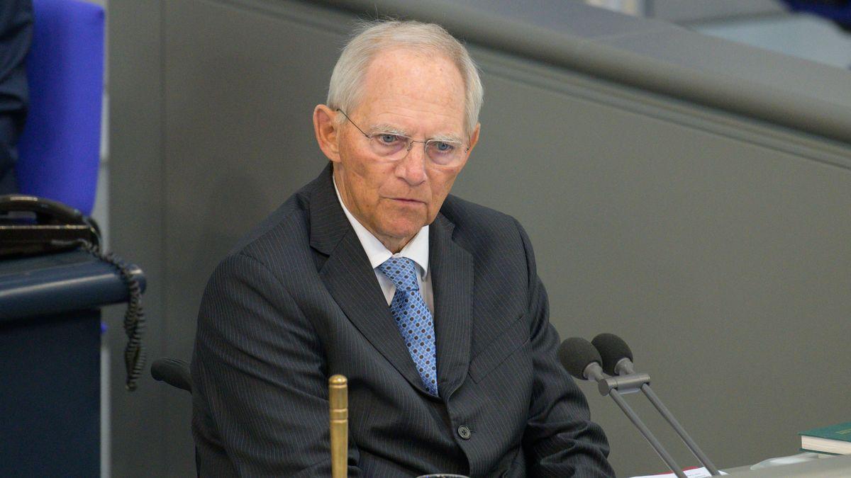 Wolfgang Schäuble - CDU - Bundestagspräsident