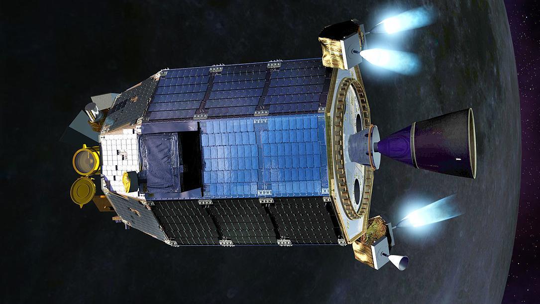 Chandrayaan-2 Orbiter (künstlerische Darstellung)