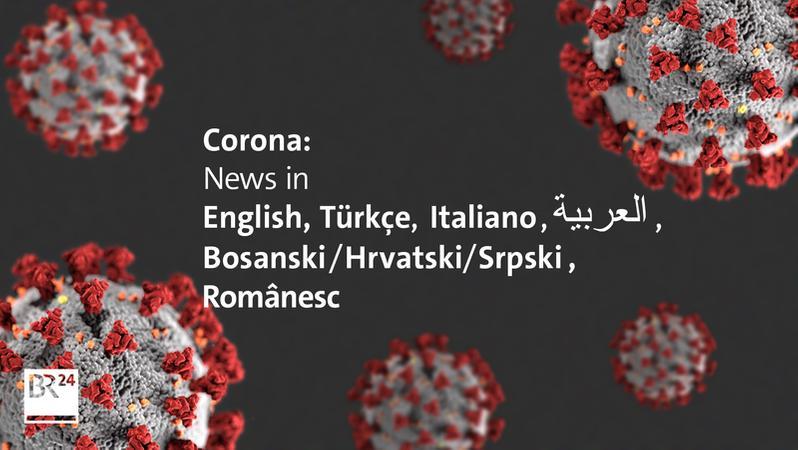 Coronavirus In Bavaria Assistance In English Br24