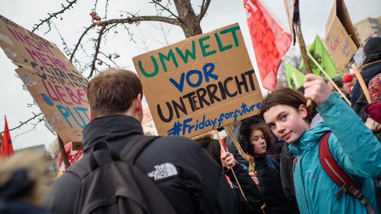Schüler-Klima-Streik