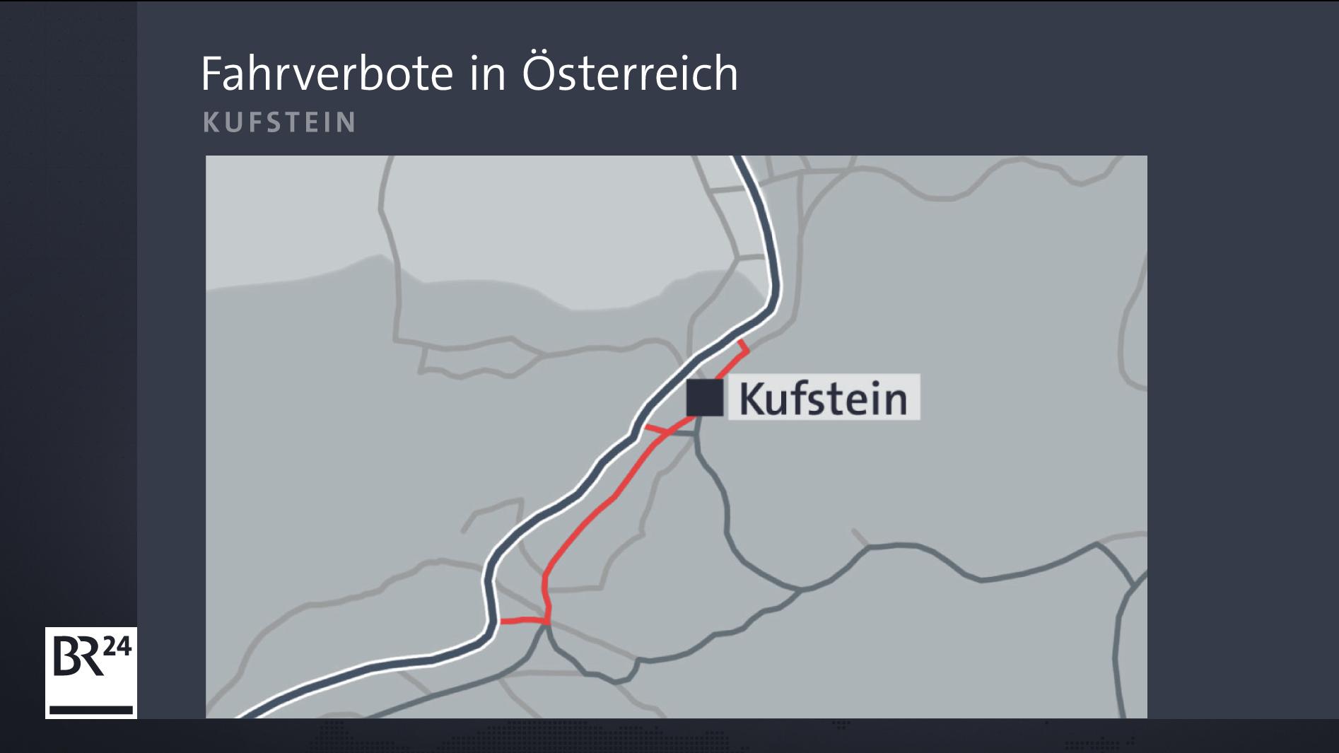 Fahrverbote rund um Kufstein
