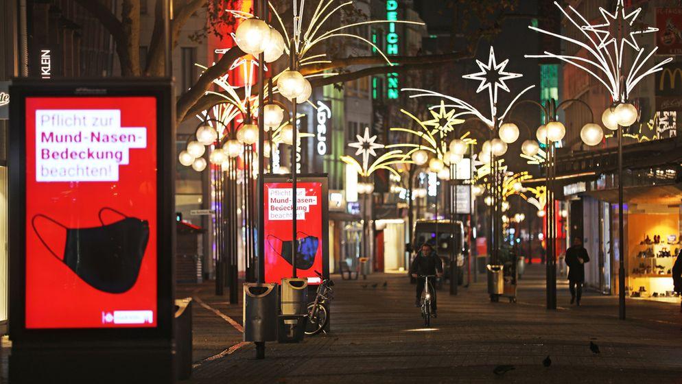 Fußgängerzone in Köln. | Bild:pa/dpa