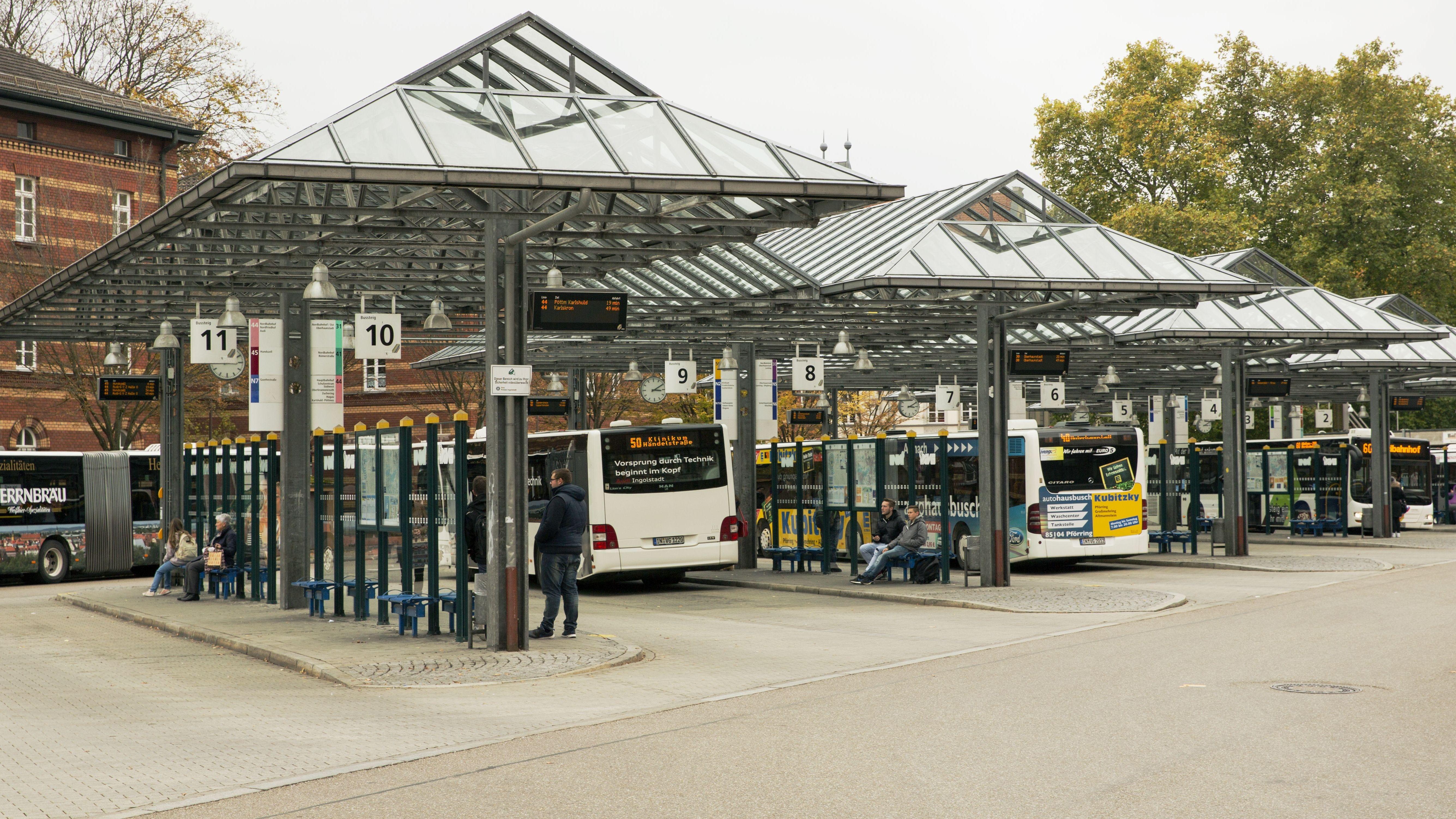 Bushaltestelle Ingolstadt