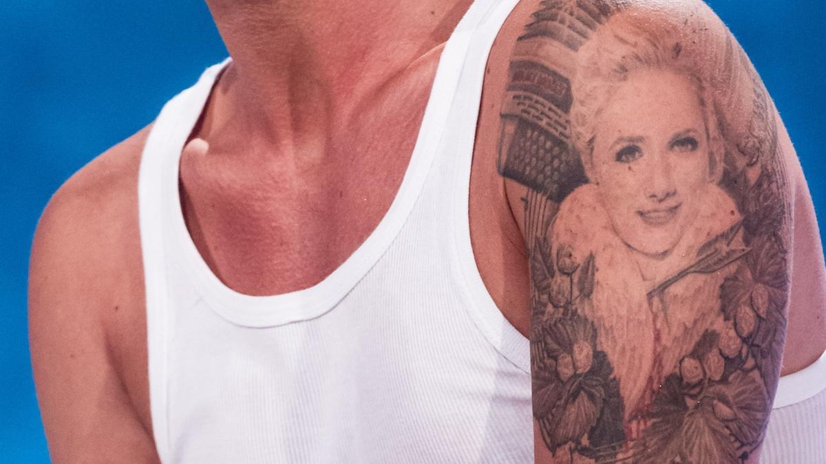 Florian Silbereisen trägt als Tattoo ein Porträt von Helene Fischer. Im Dezember 2018 haben sie ihre Trennung offiziell bekannt gegeben.