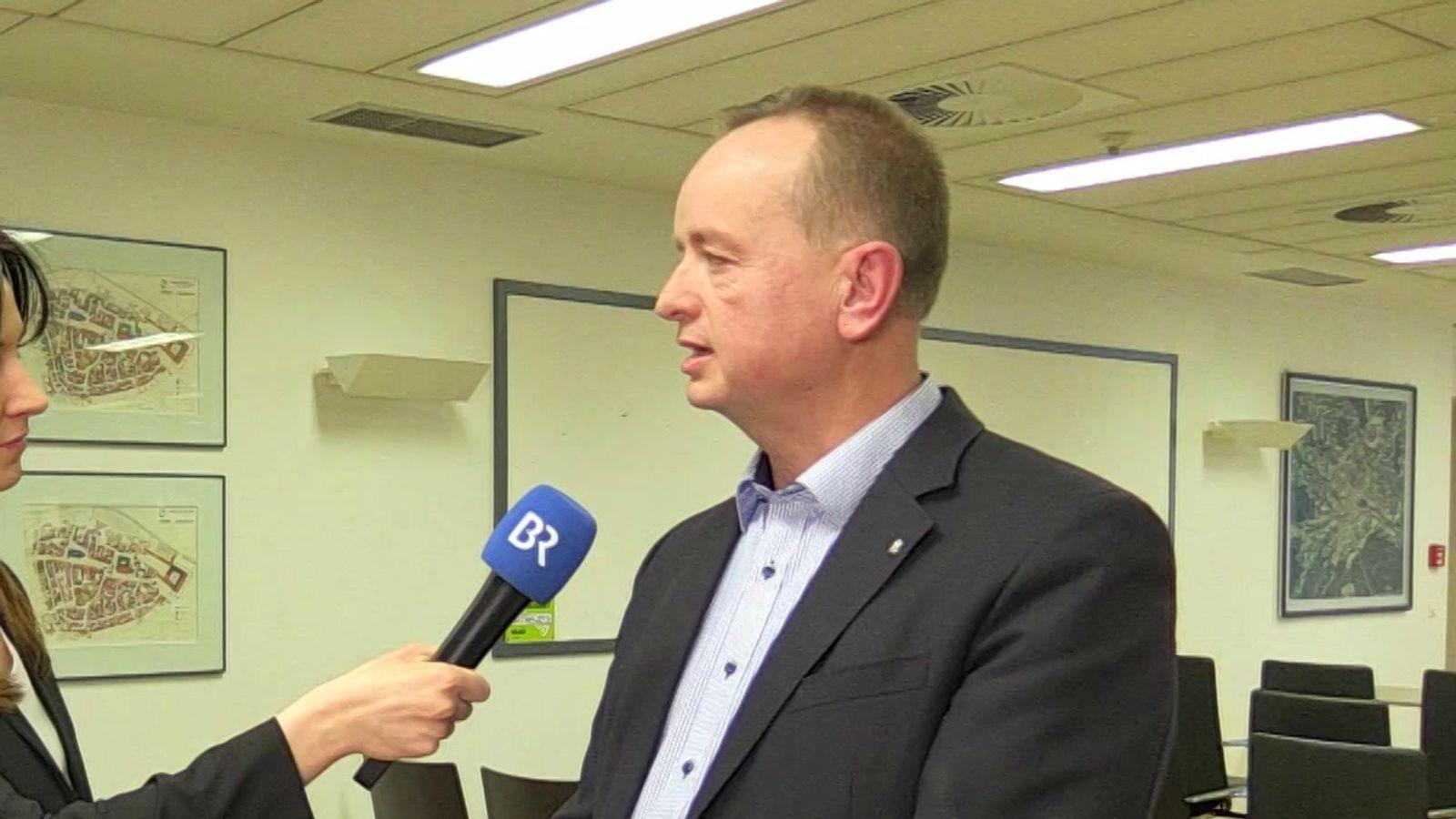 Thomas Deffner ist neuer Oberbürgermeister von Ansbach