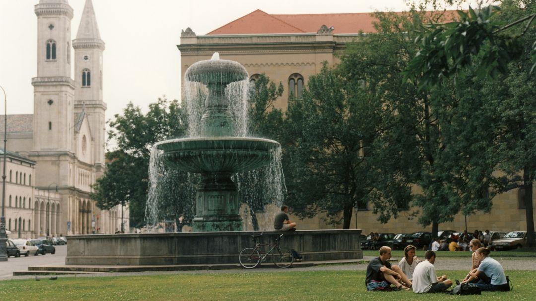 Universitätsgelände in München