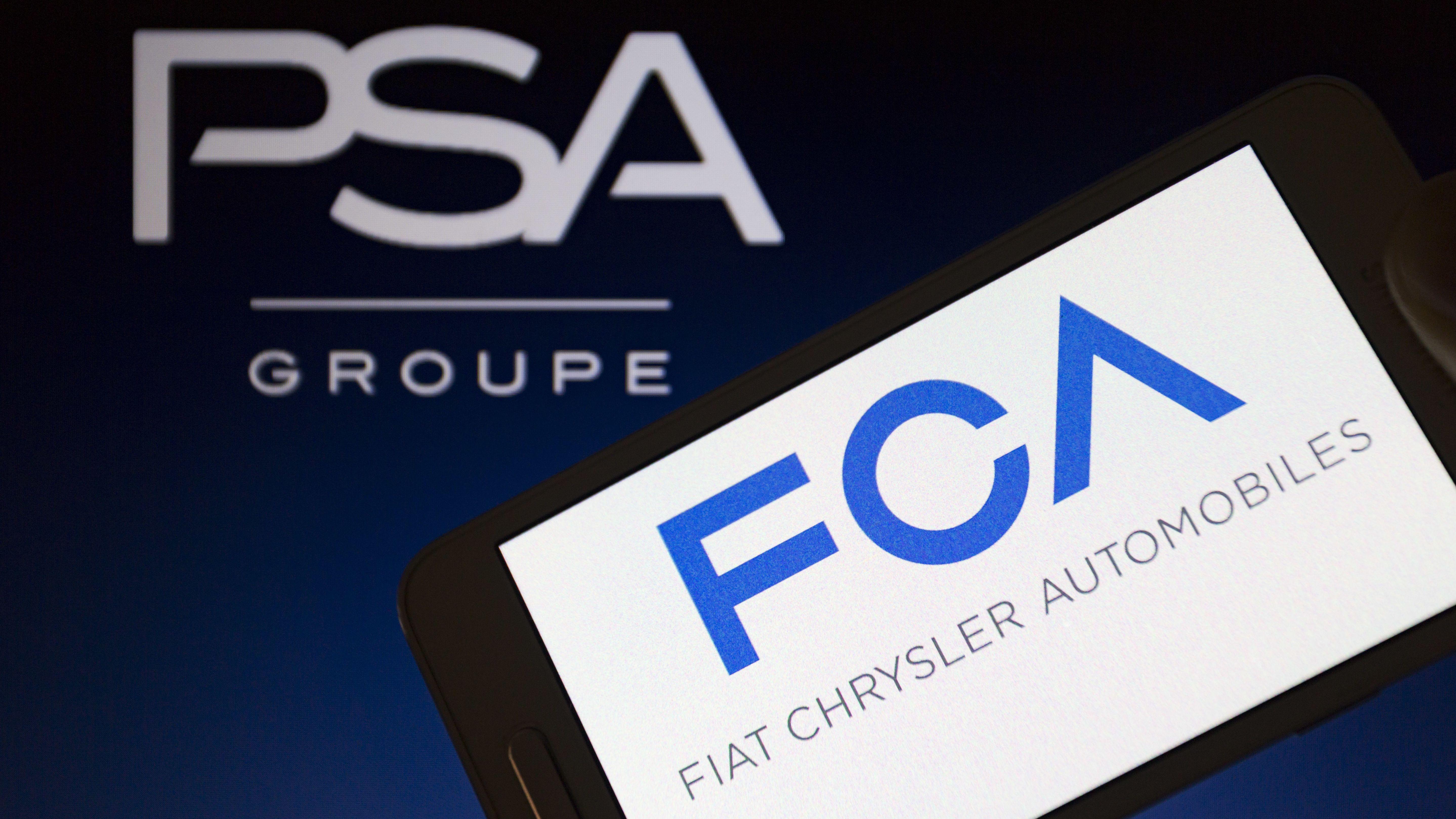 Fiat Chrysler und PSA fusionieren (Symbolbild)