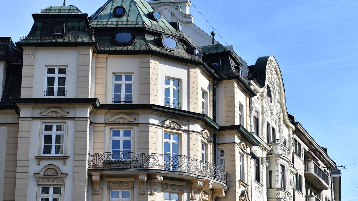 Wohnungen in der Stadt München.