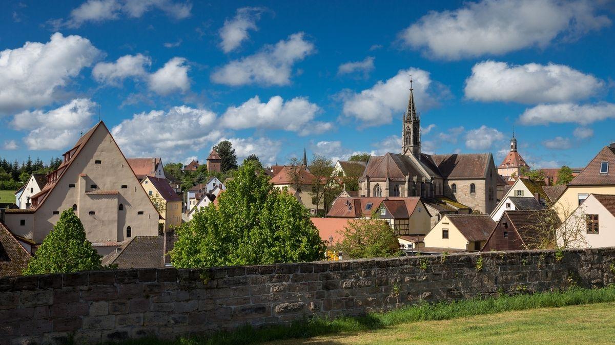 Außenansicht Heilsbronn im Landkreis Ansbach