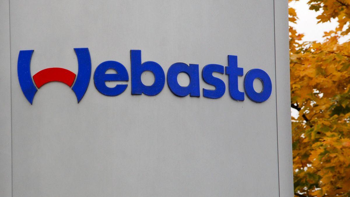 Das Logo der Firma Webasto