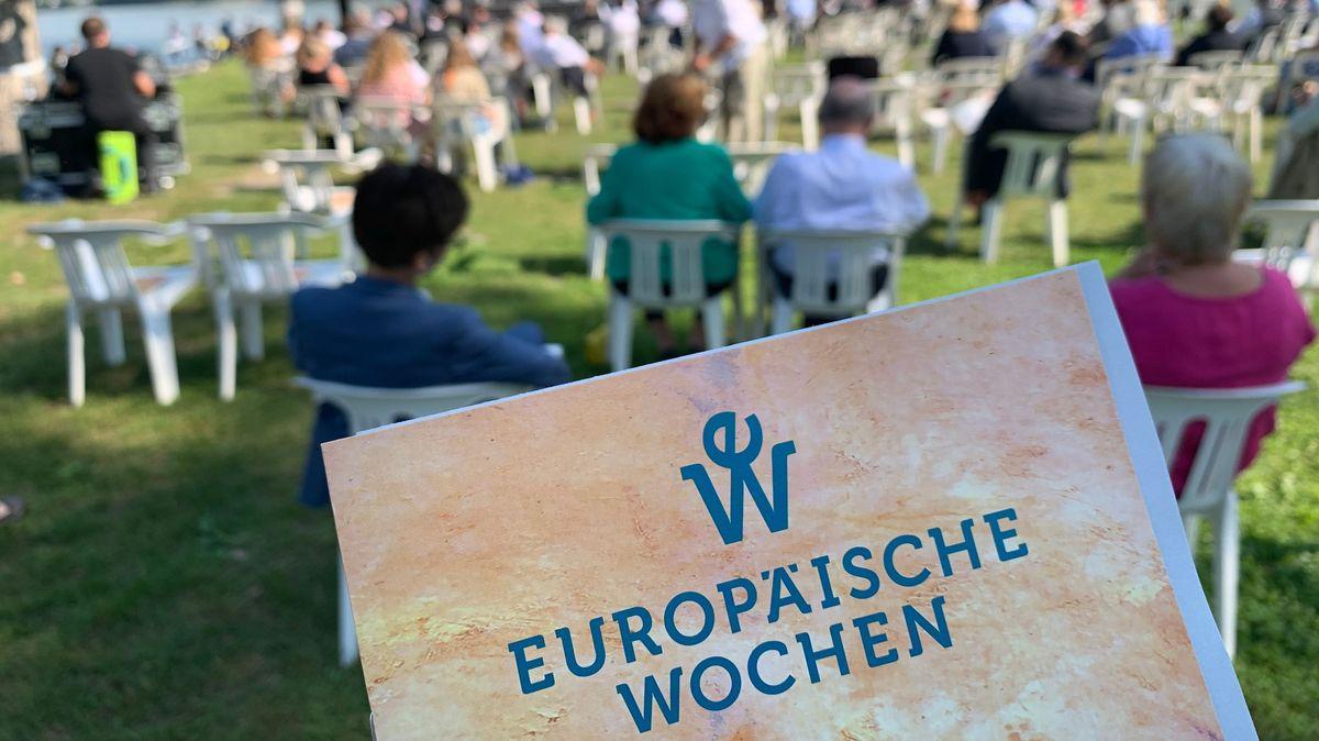 Bei den Europäischen Wochen in Passau