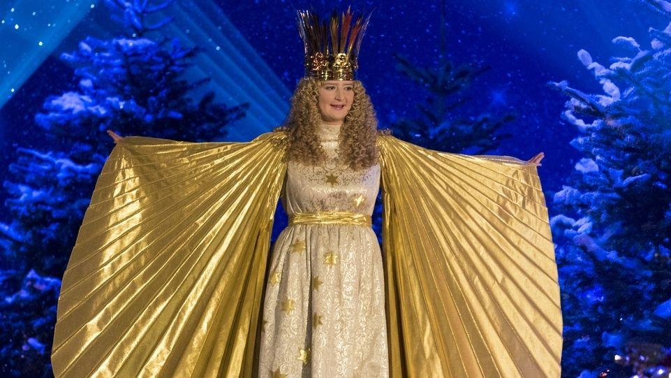 Das Nürnberger Christkind Rebecca Ammon bei der Sternstunden-Gala 2017