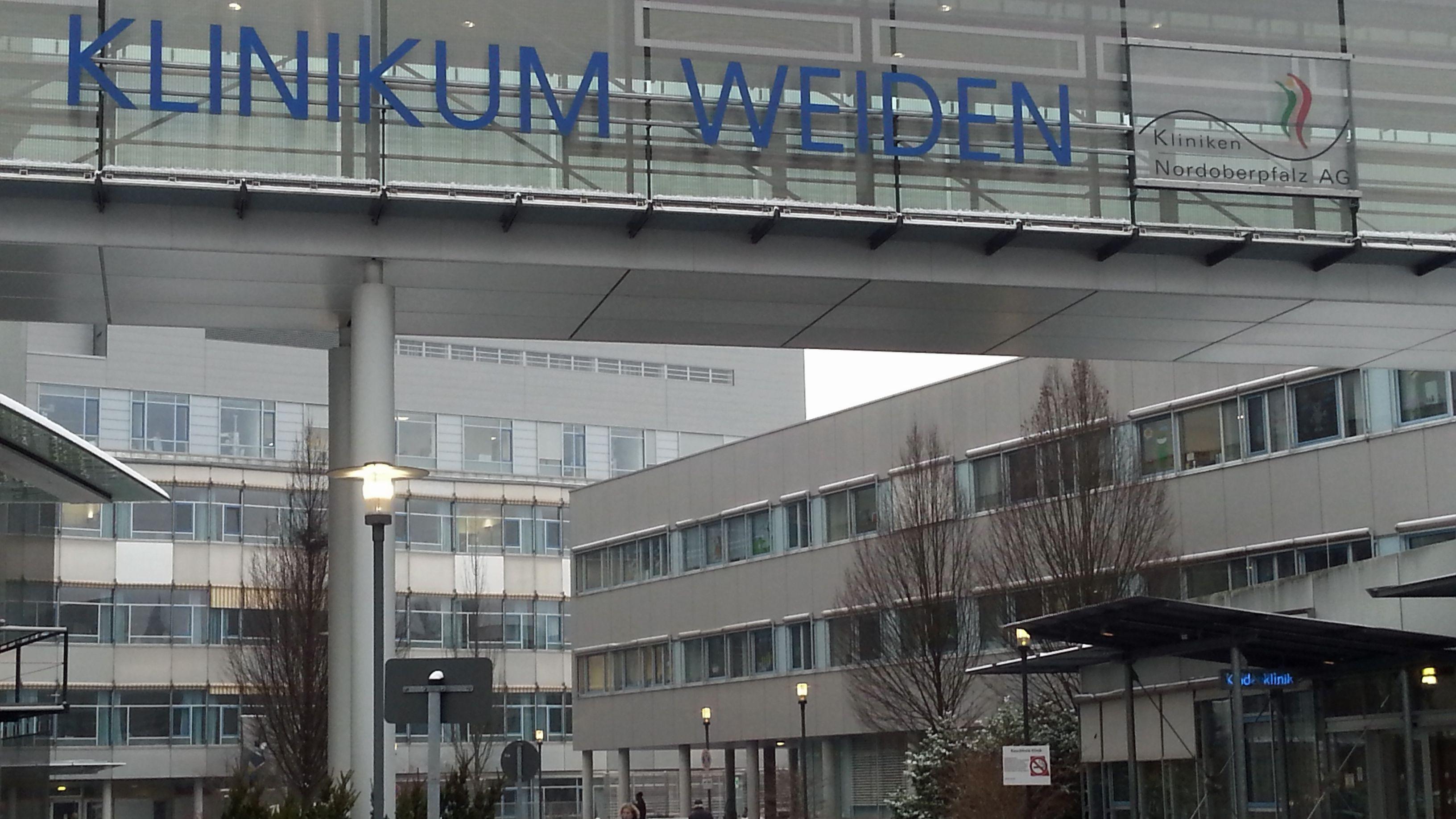 Seit fast 40 Jahren wird am Klinikum Weiden gebaut.