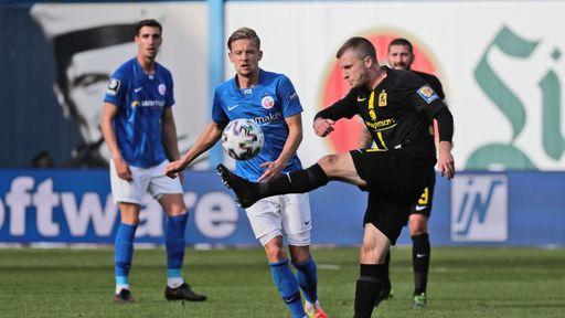 Spielszene Hansa Rostock - TSV 1860 München