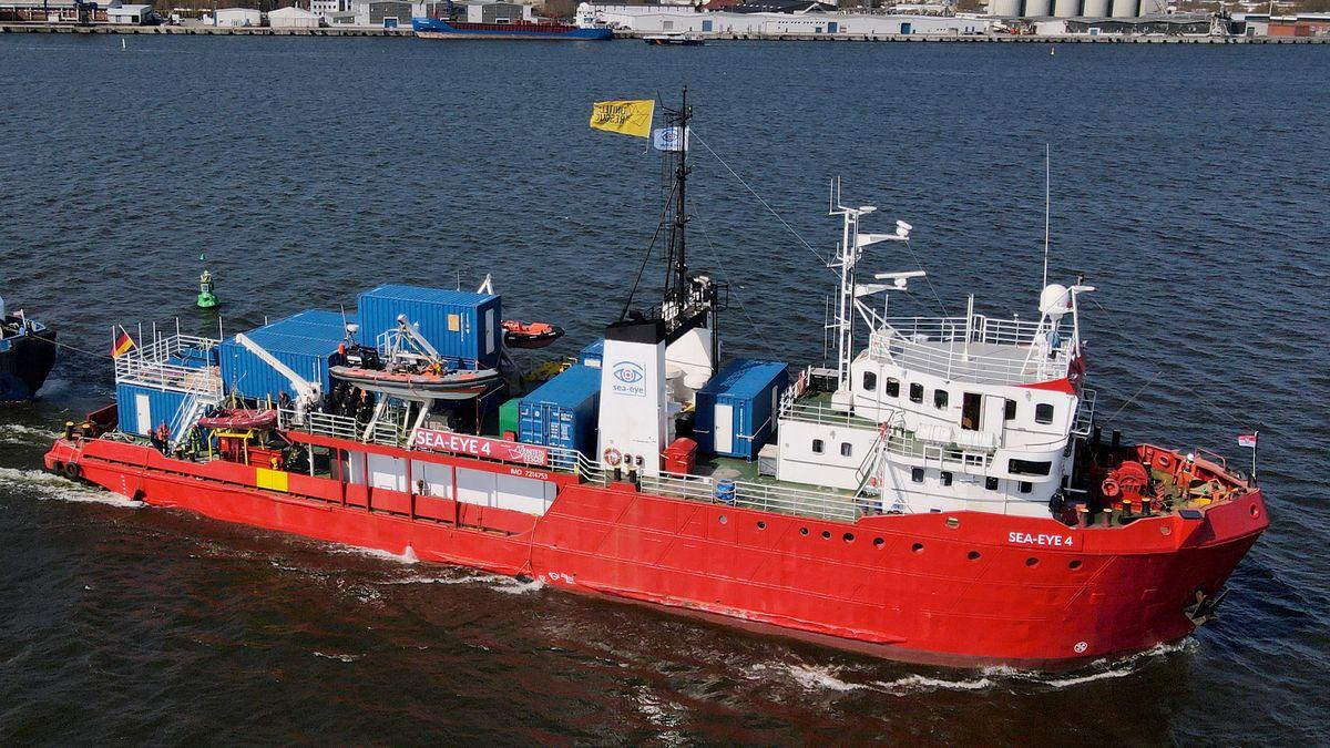 """rettungsschiff """"Sea Eye 4"""""""