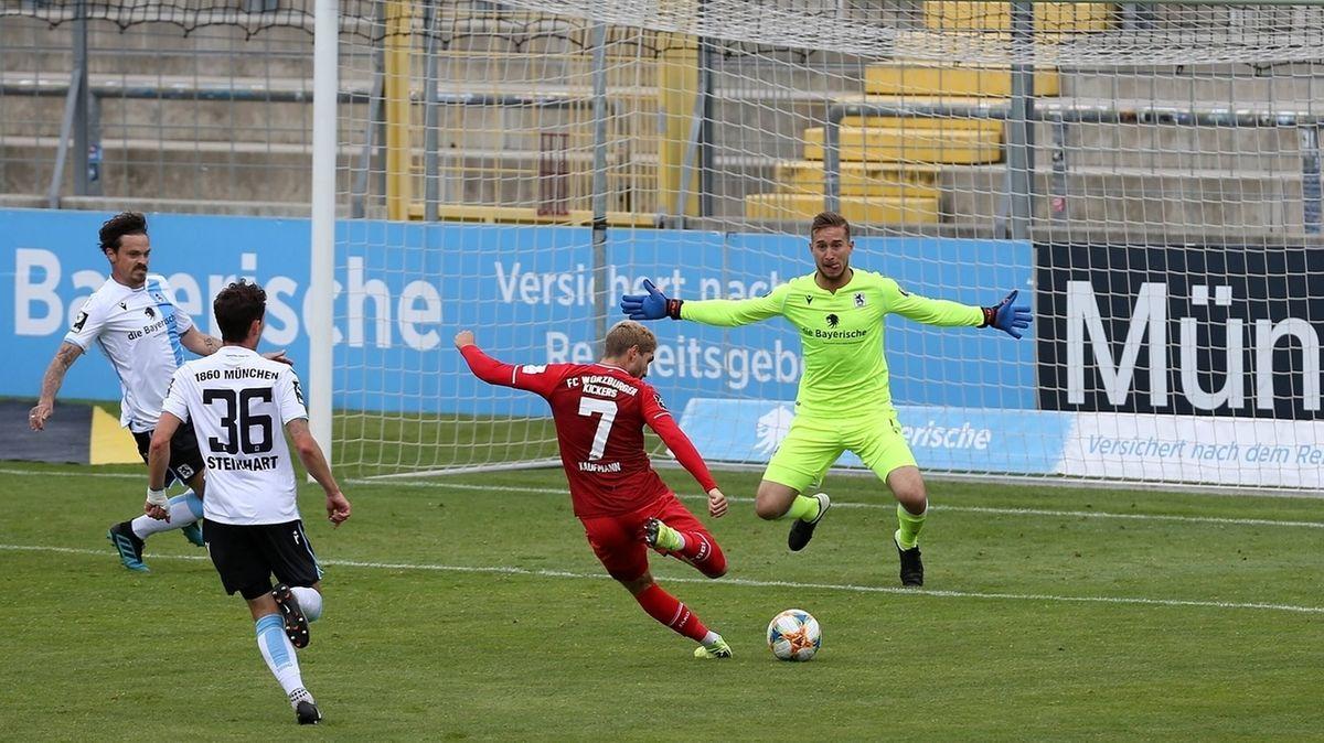 Spielszene München - Würzburg