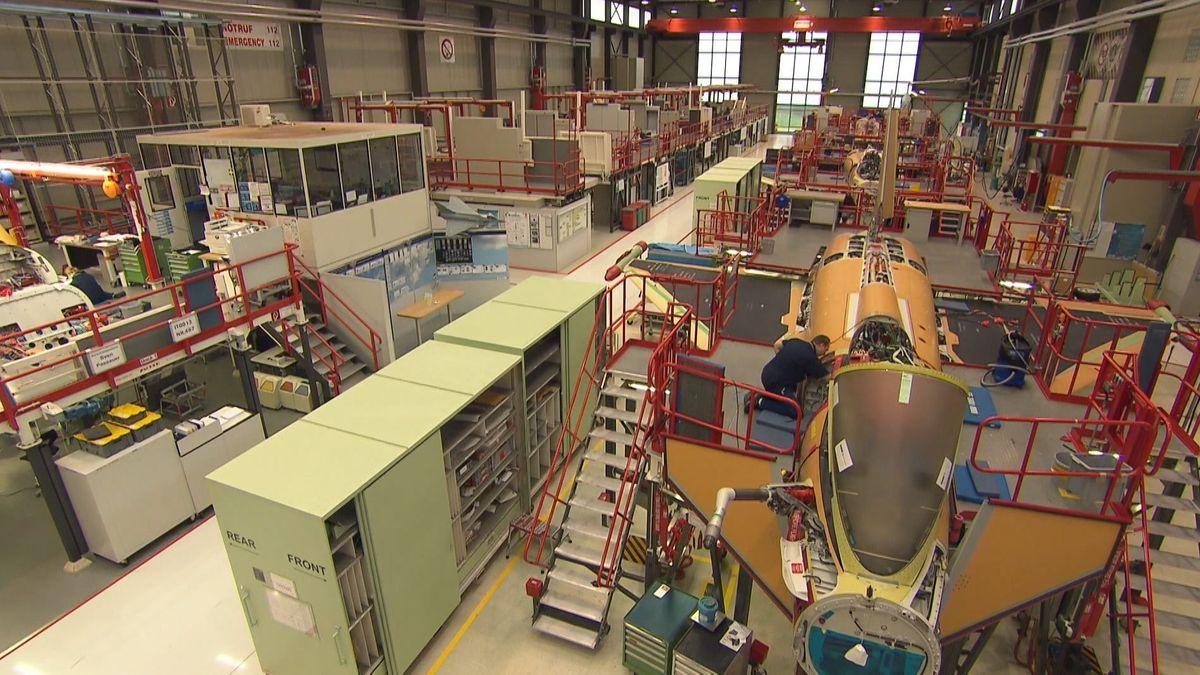 Fertigung bei Airbus in Manching.