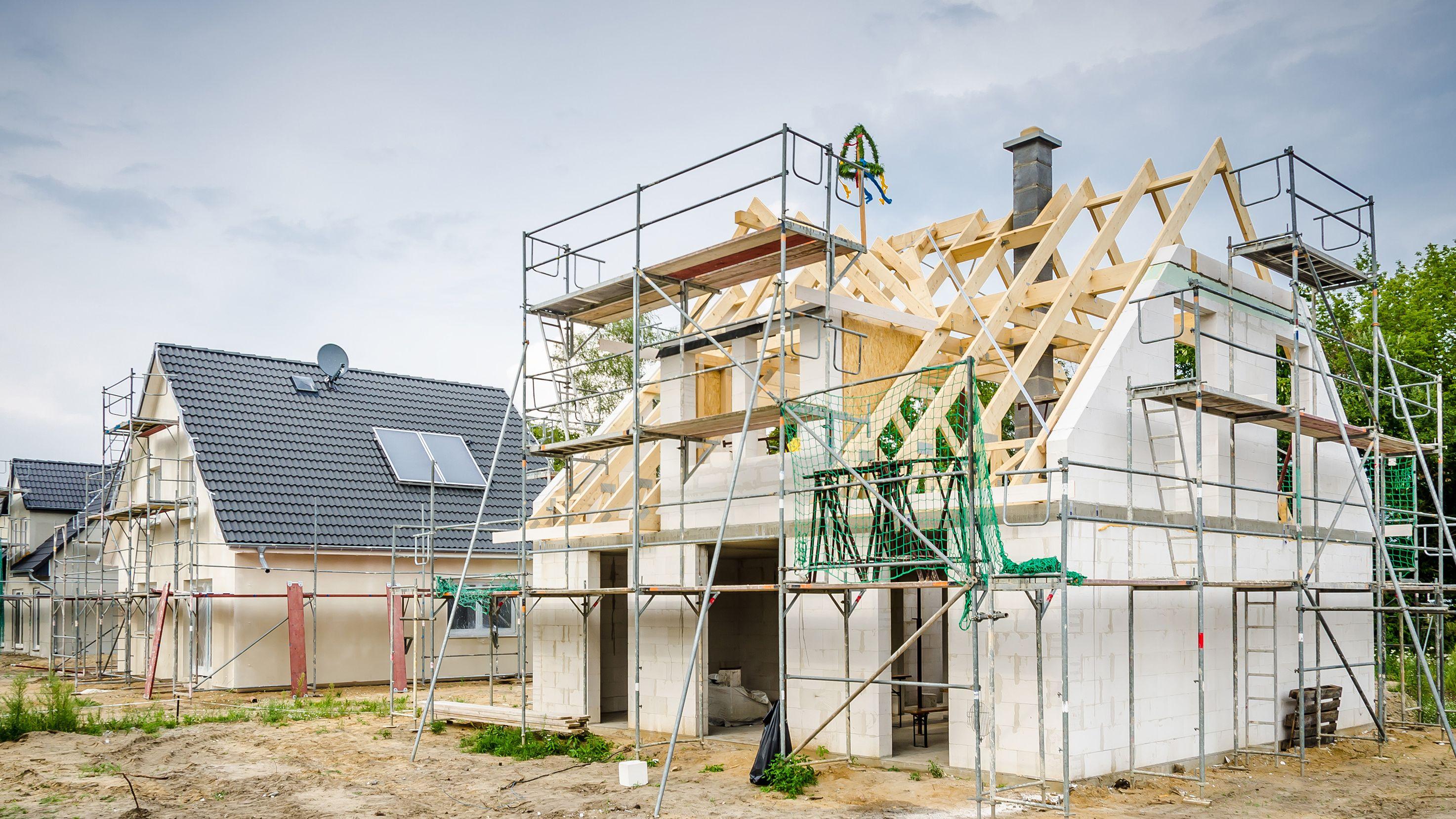 Bauhauptgewerbe verzeichnet nach wie vor volle Auftragsbücher