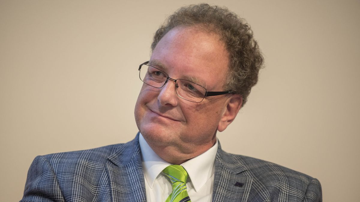 Der Geschäftsführer des deutschen Kulturrates, Olaf Zimmermann 2018 auf der Frankfurter Buchmesse