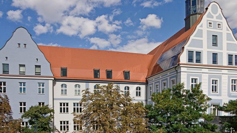 Das Landratsamt in Würzburg