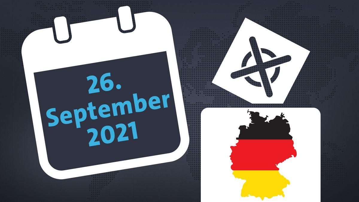 Bundestagswahl am 26. September 2021 - Fristen und Termine