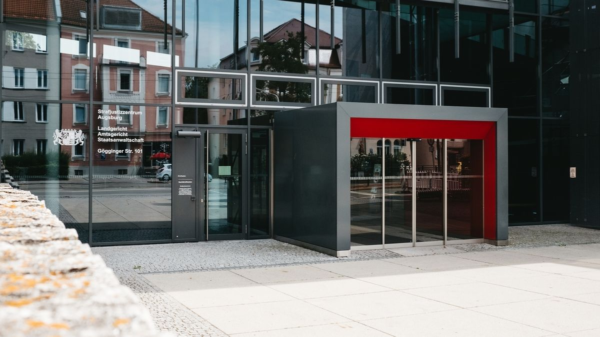 Das Strafjusitzzentrum in Augsburg
