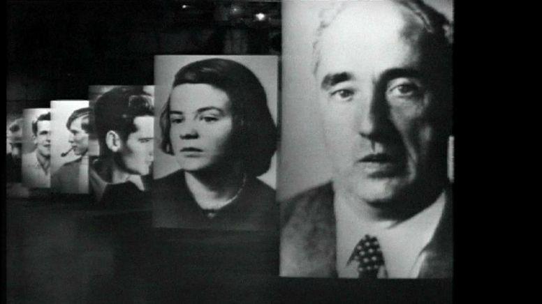 Mitglieder der Weißen Rose, die hingerichtet wurden | Bild:Bayerischer Rundfunk