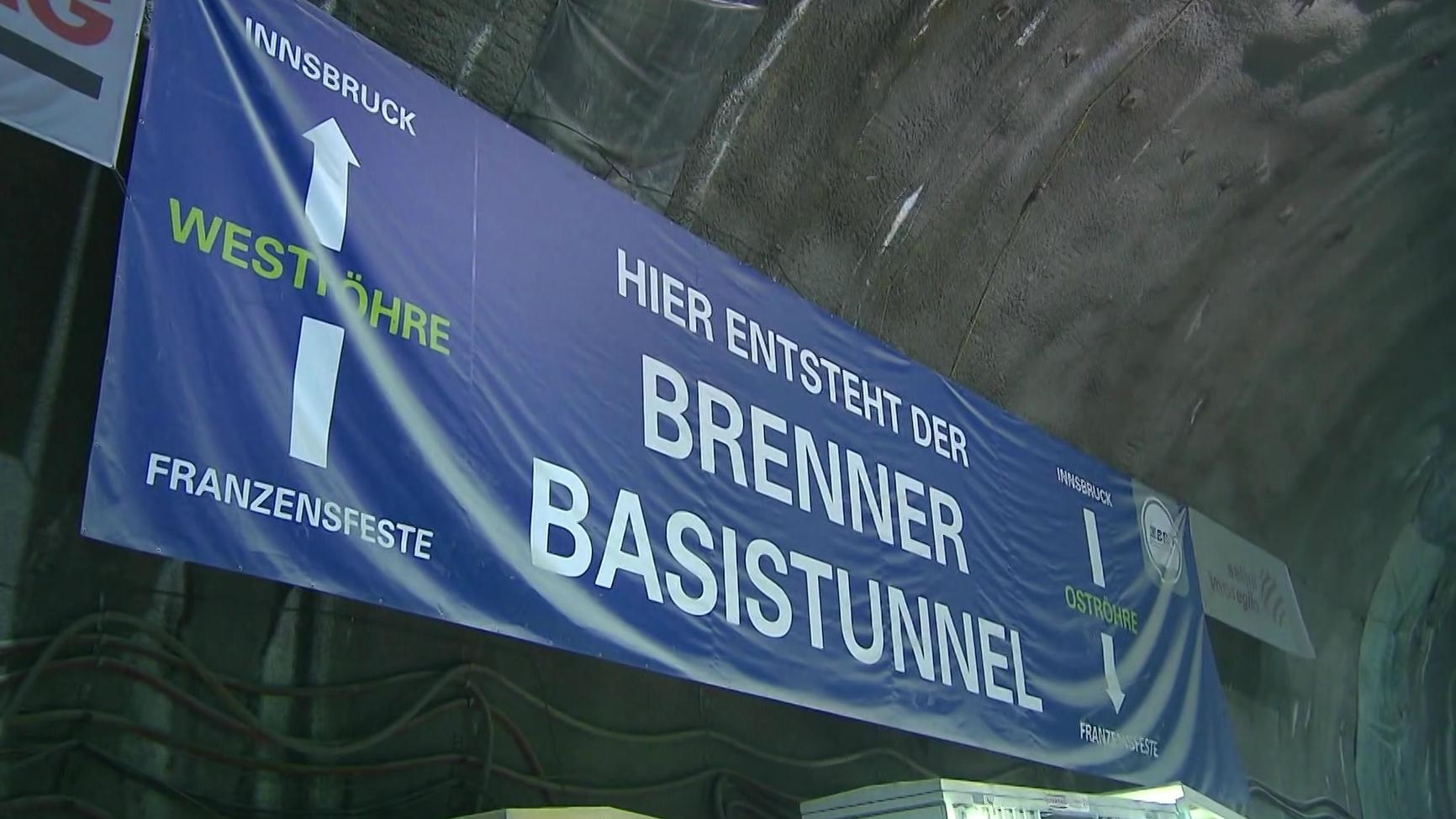 Transparent: Hier entsteht der Brenner Basistunnel.