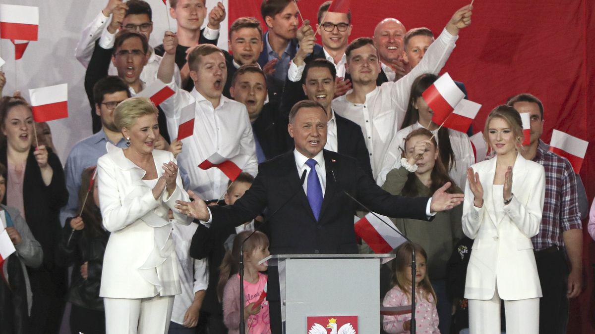 Andrzej Duda ist der alte und neue Präsident in Polen.