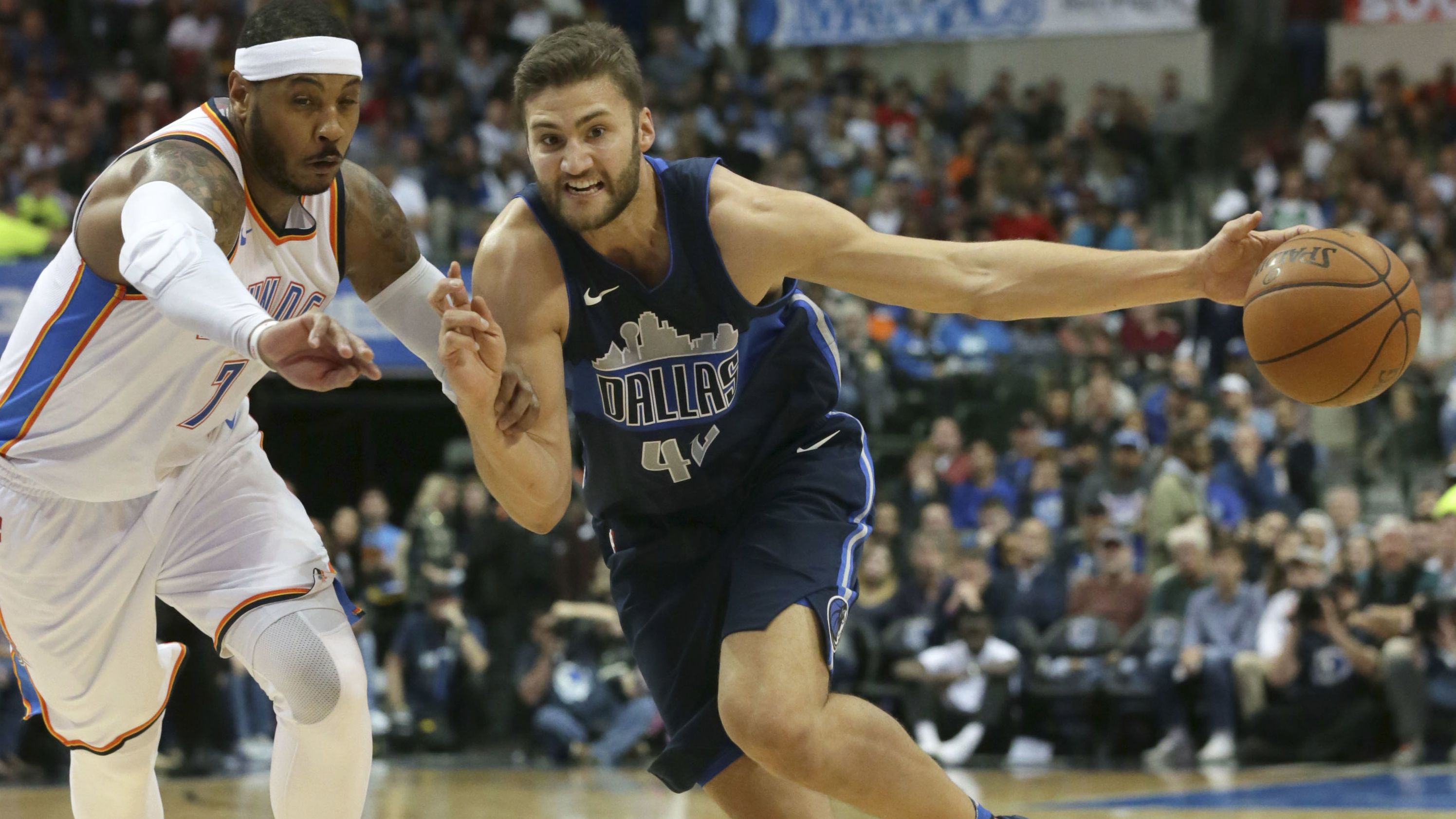 Maxi Kleber im Trikot der Dallas Mavericks