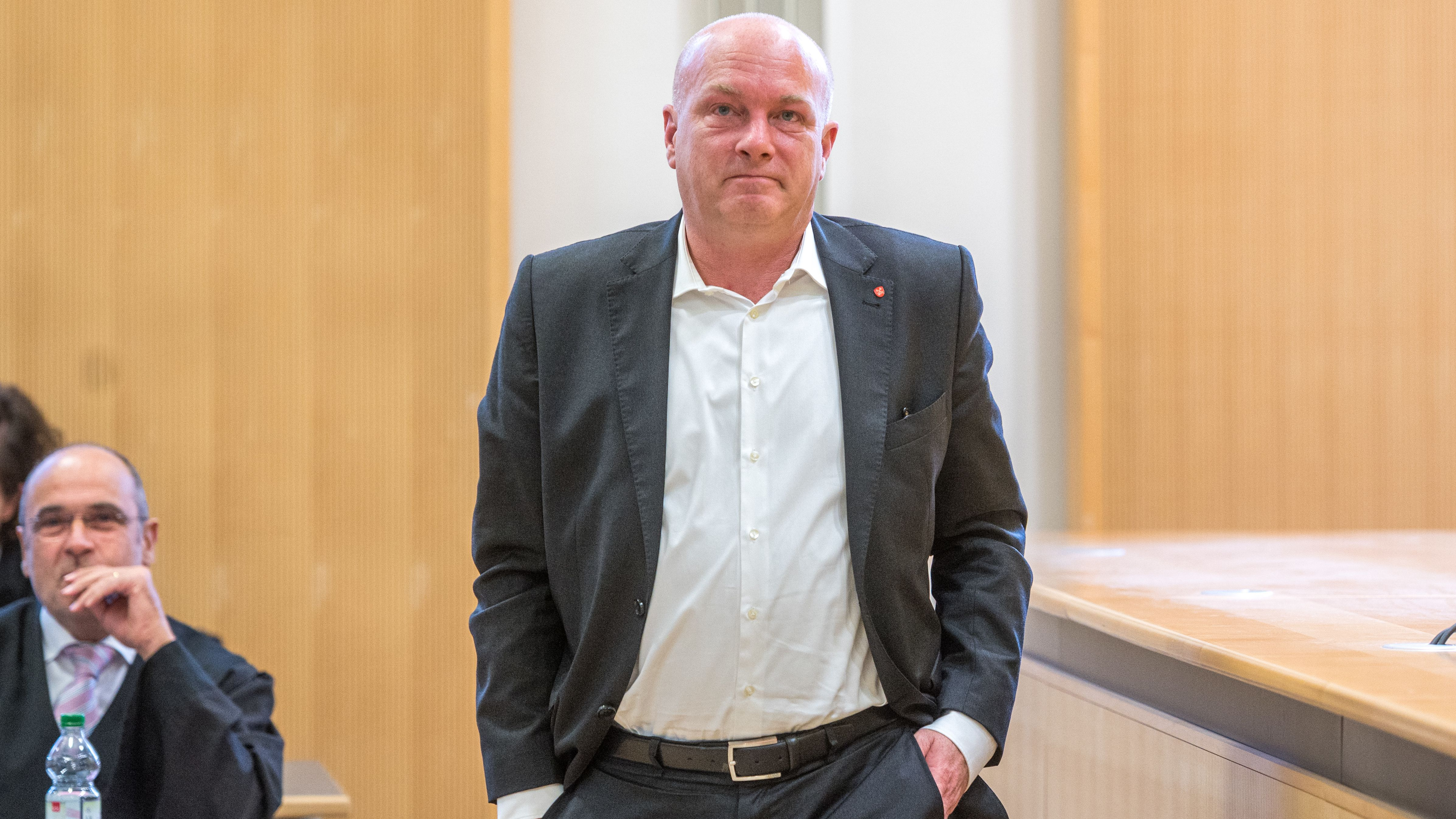 Joachim Wolbergs im Gerichtssaal.