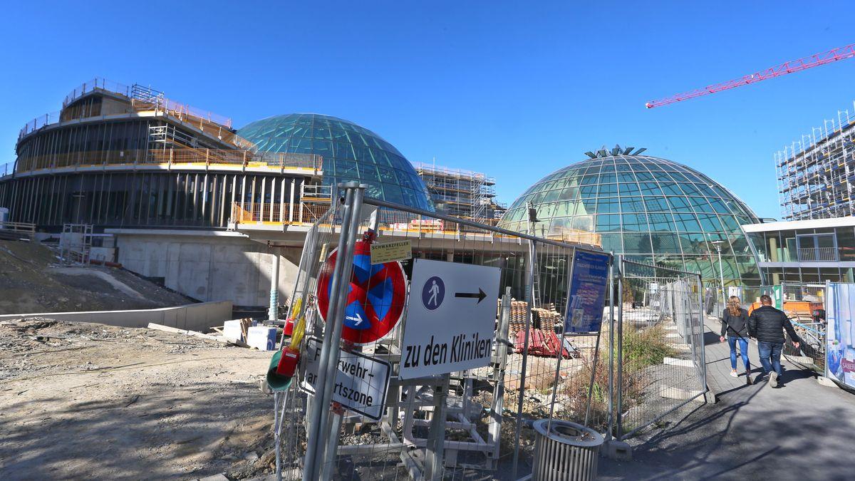 Baustelle Rhön-Klinikum in Bad Neustadt an der Saale