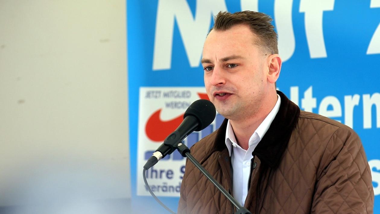 AfD-Spitzenkandidat Benjamin Nolte