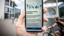 Corona-Warn-App steht zum Download bereit | Bild:pa/dpa