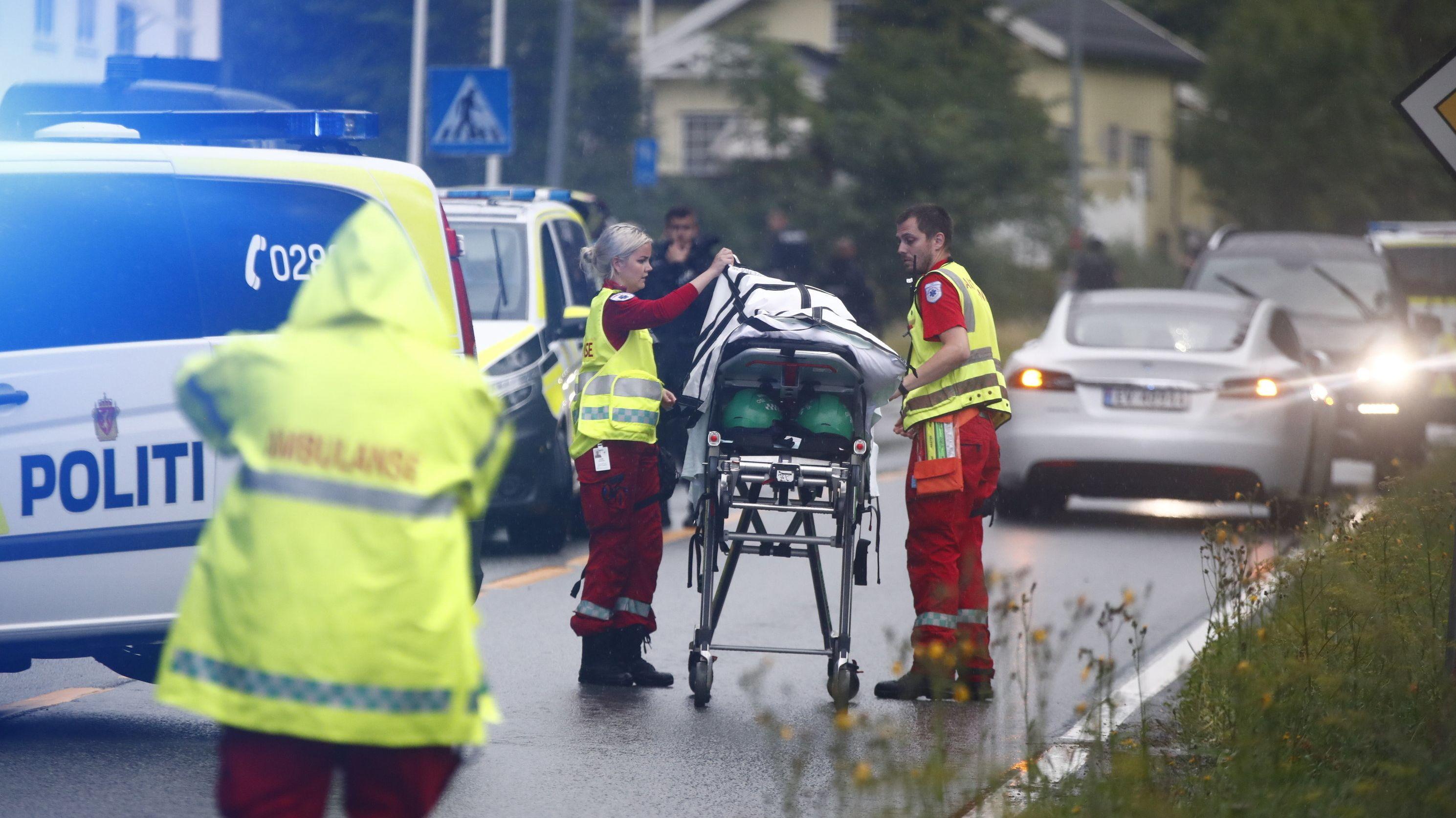 Angriff auf eine Moschee in der Nähe von Oslo