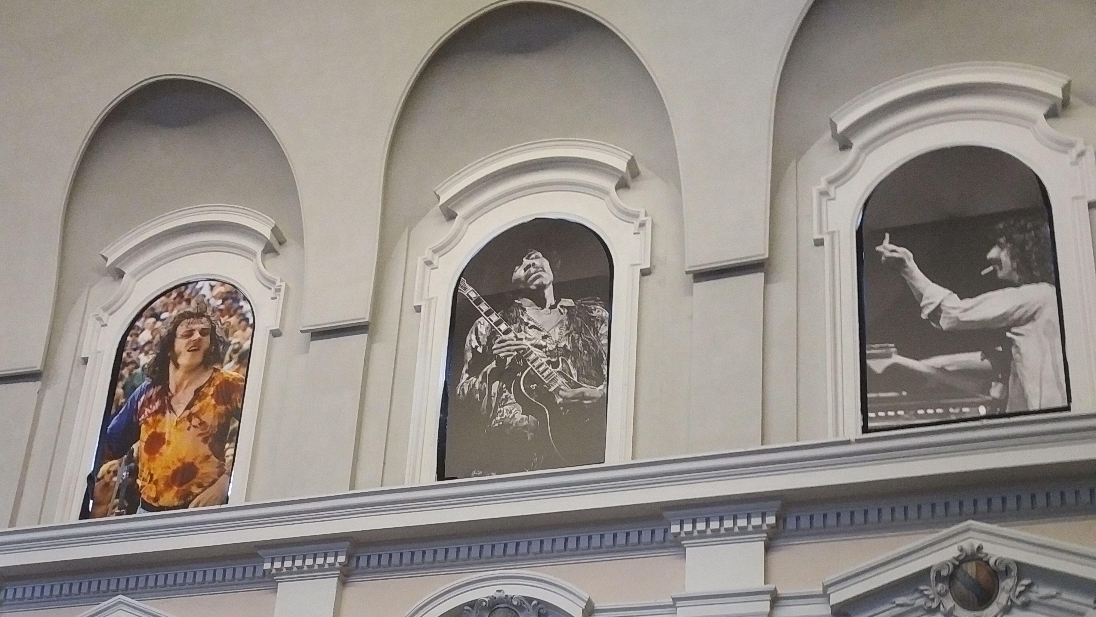 """""""50 Jahre Woodstock"""": In der Egidienkirche in Nürnberg sind derzeit Fotos von Elliot Landy zu sehen, der Woodstock mit der Kamera begleitet hat."""