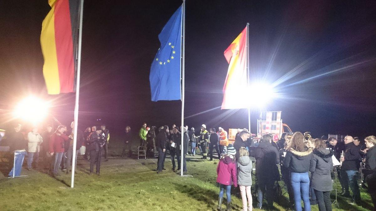 Feierlichkeiten in Gadheim in der Nacht vom 31.01.2020 auf den 1.02.2020