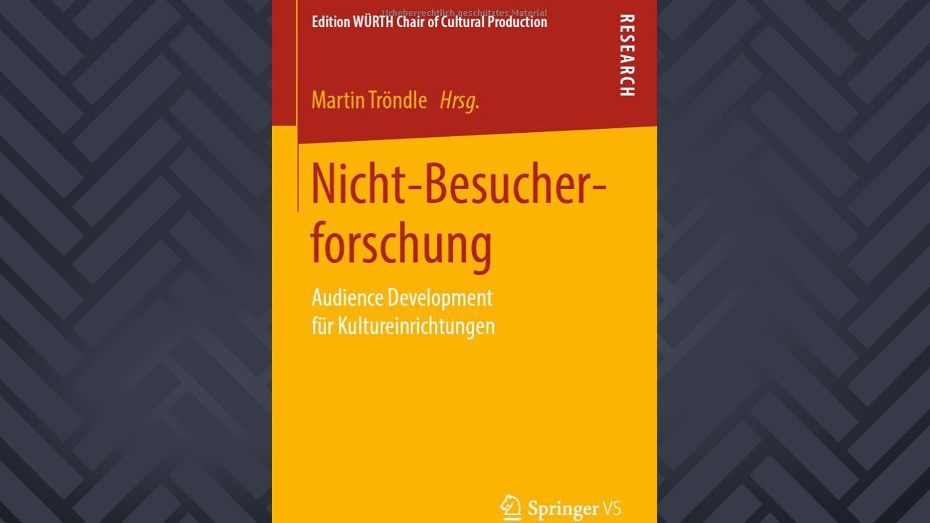 Martin Tröndle: Nicht-Besucher-Forschung Cover